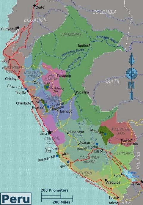 Mapa - Peru