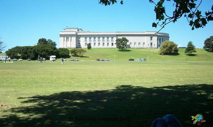 Parque e Museu - Auckland - Nova Zelandia