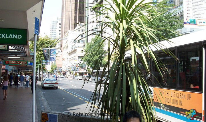 Queen St - Auckland - Nova Zelandia