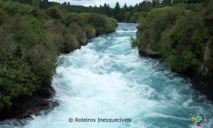 Huka Falls - Taupo - Nova Zelandia