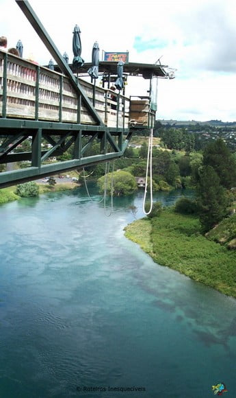 Taupo Bungy - Nova Zelandia