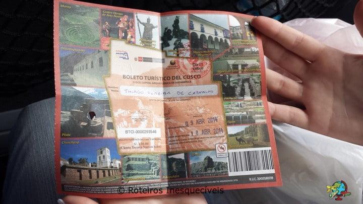 Boleto Turistico - Cusco - Peru