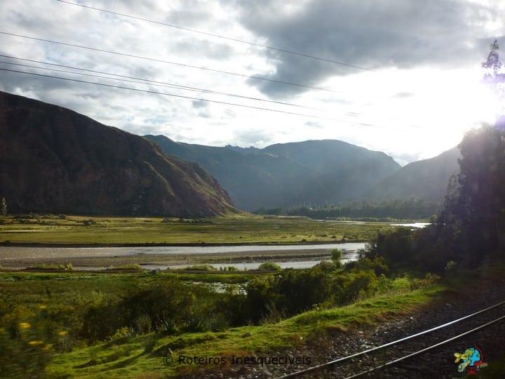 Trem - Valle Sagrado - Cusco - Peru