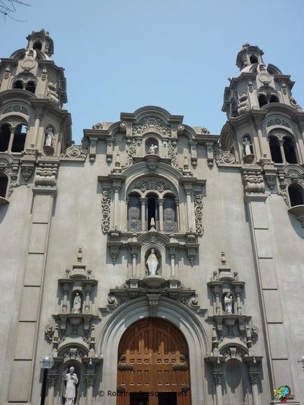 Parroquia Virgen Milagrosa - Lima - Peru