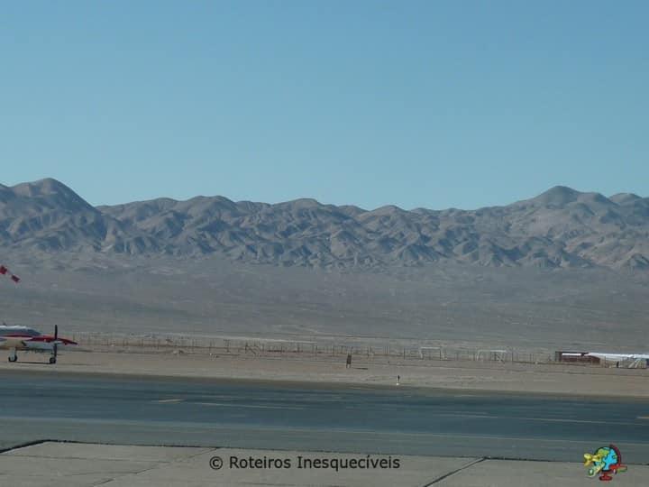 Aeroporto - Calama - Deserto do Atacama