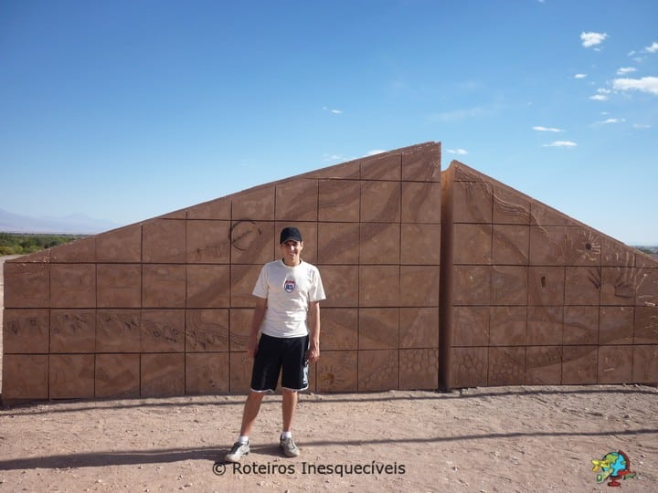 Entrada de San Pedro do Atacama - Deserto do Atacama