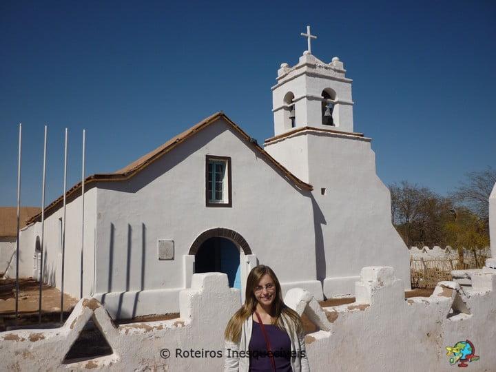 Igreja - San Pedro de Atacama - Deserto do Atacama