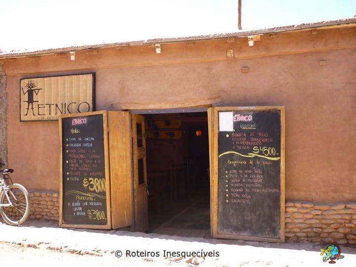 Restaurante Etnico - San Pedro de Atacama - Deserto de Atacama