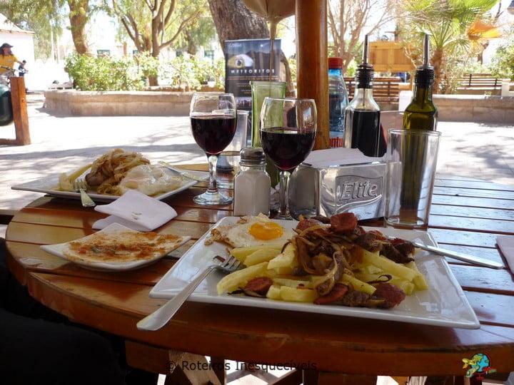 Restaurante La Plaza - San Pedro de Atacama - Deserto do Atacama