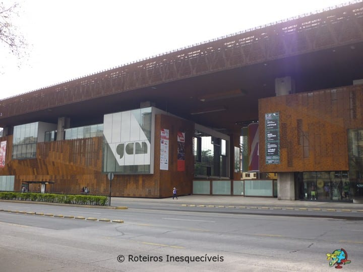 Centro Cultural Gabriela Mistral - Santiago - Chile