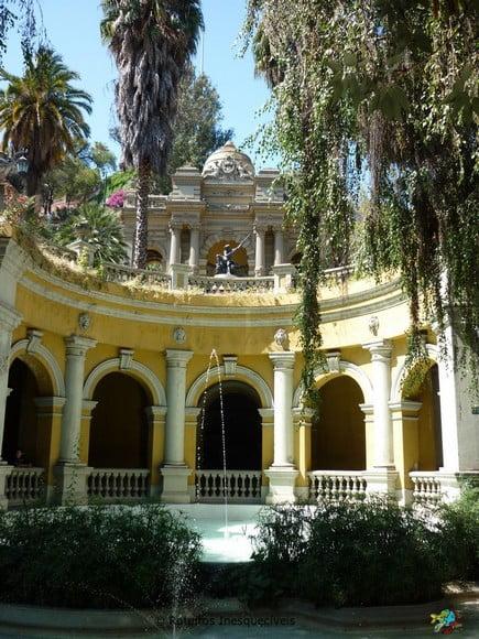 Cerra Santa Lucia - Santiago - Chile