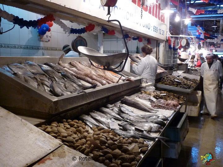 Mercado Central - Santiago - Chile