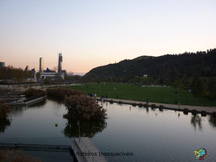 Parque Bicentenario - Santiago - Chile