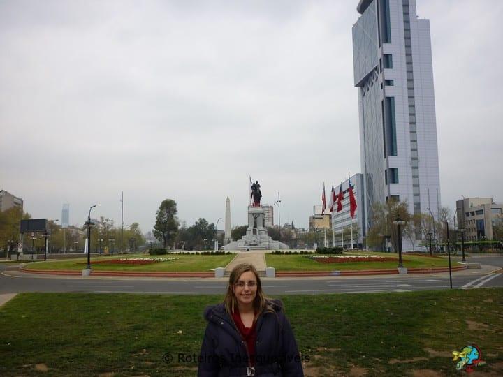 Plaza Baquedano - Santiago - Chile