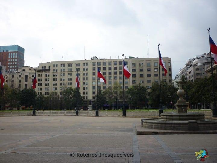 Plaza de Constitucion - Santiago - Chile