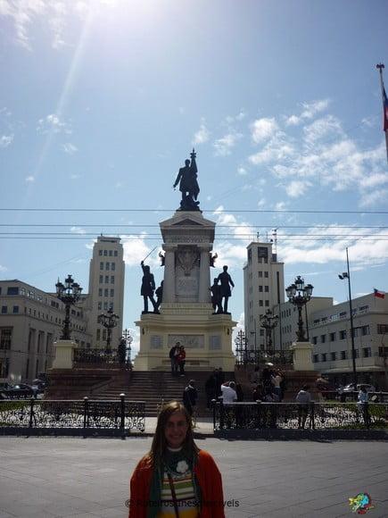 Monumento a los Heroes - Valparaiso - Chile