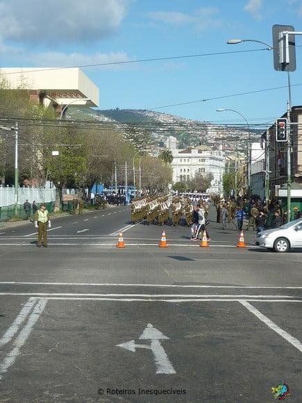 Troca da Guarda - Valparaiso - Chile