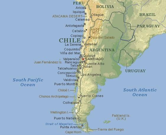 Mapa - Chile