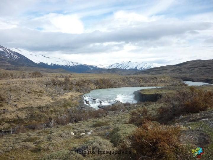 Cascatas - Torres del Paine - Patagonia Chilena