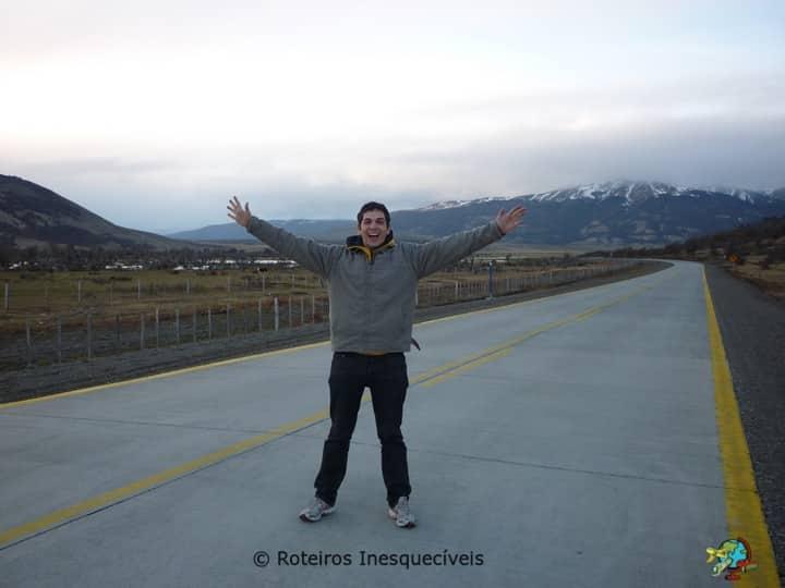 Estrada - Torres del Paine - Patagonia Chilena