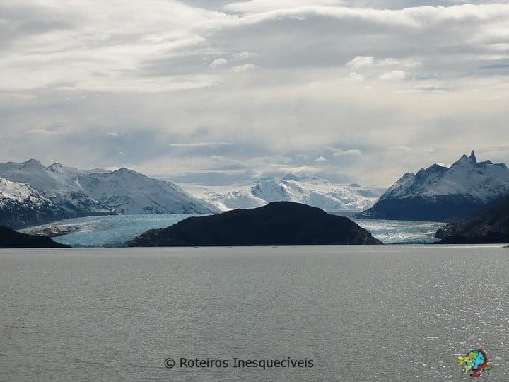 Lago e Glaciar Grey - Torres del Paine - Patagonia Chilena