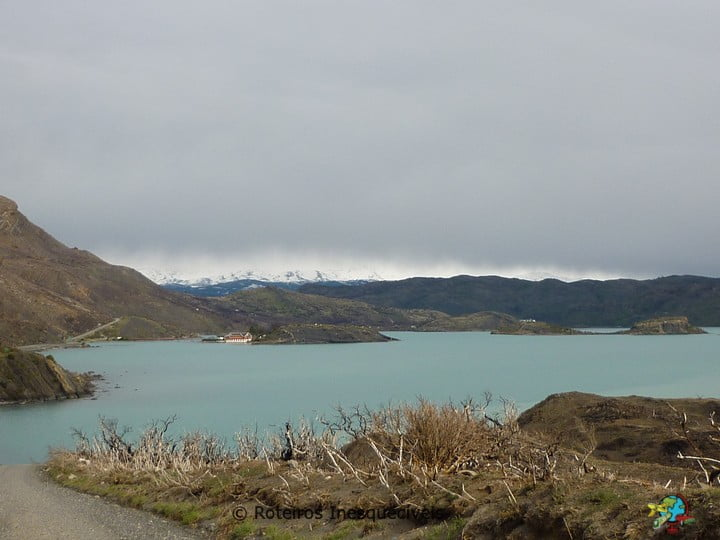Lago Pehoe - Torres del Paine - Patagonia Chilena