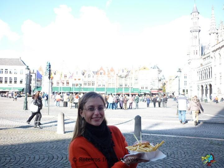 Batata Frita - Bruges - Belgica