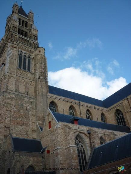 Catedral de Sao Salvador - Bruges - Belgica
