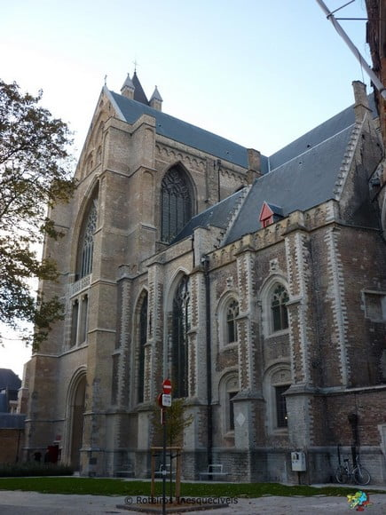 Igreja de Nossa Senhora - Bruges - Belgica