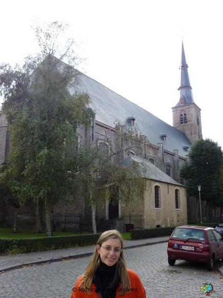 Igreja de Santa Ana - Bruges - Belgica