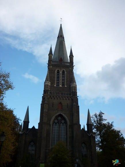 Igreja Santa Maria Madalena - Bruges - Belgica