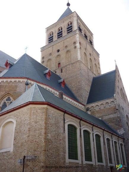 Igreja de Sao Jaco - Bruges - Belgica