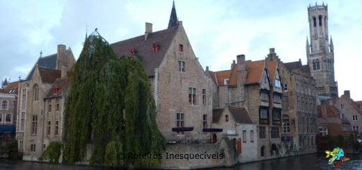 Esquina mais fotografada - Bruges - Belgica