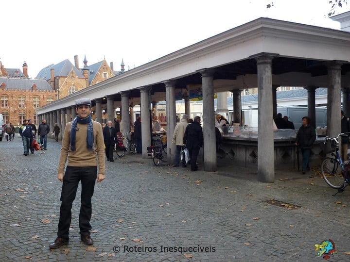 Mercado de Peixes - Bruges - Belgica