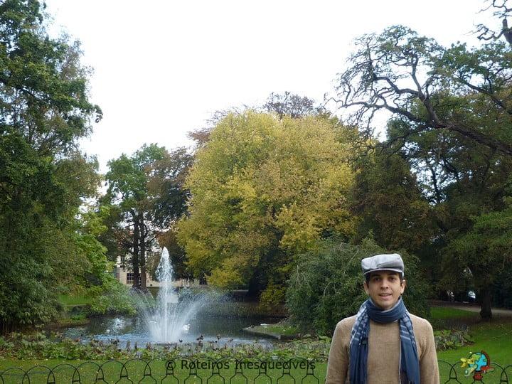 Parque Astrid - Bruges - Bruxelas