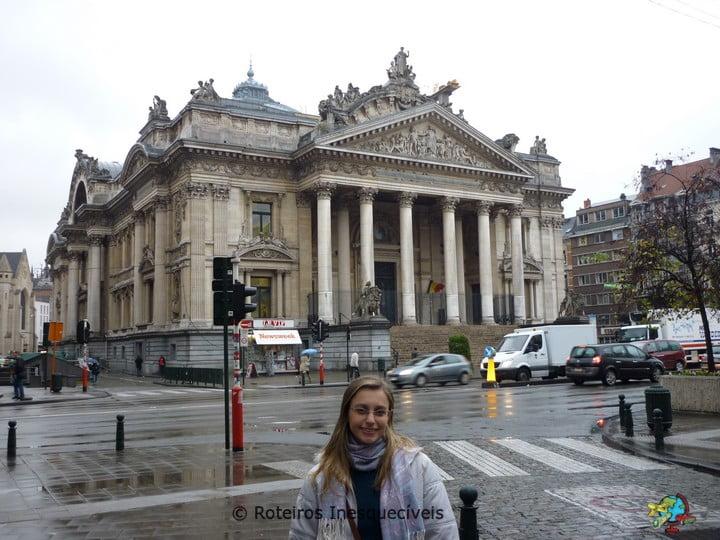 Bolsa de Valores - Bruxelas - Belgica