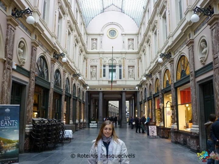 Galeria St. Hubert - Bruxelas - Belgica