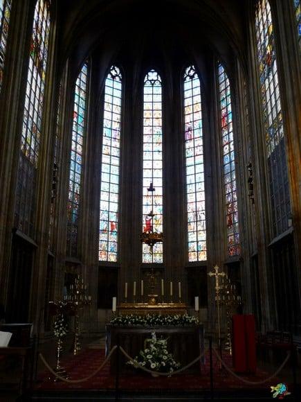 Igreja Nossa Senhora Sablon - Bruxelas - Belgica