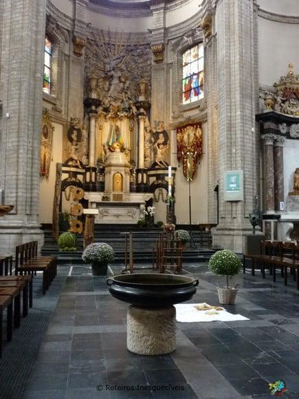 Igreja Notre Dame - Bruxelas - Belgica