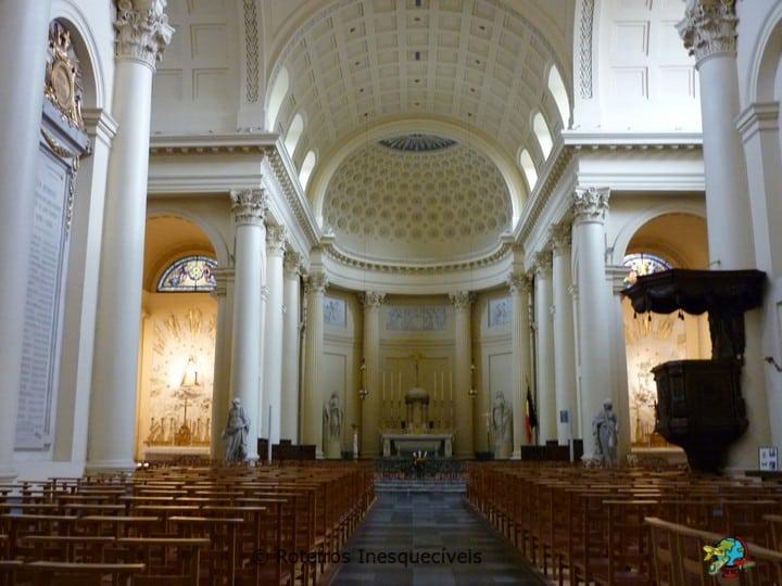 Igreja Saint Jacques - Bruxelas - Belgica