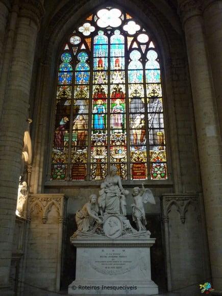 Catedral Saint Michel e Gudule - Bruxelas - Belgica