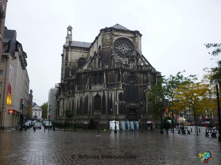 Igreja Santa Catarina - Bruxelas - Belgica