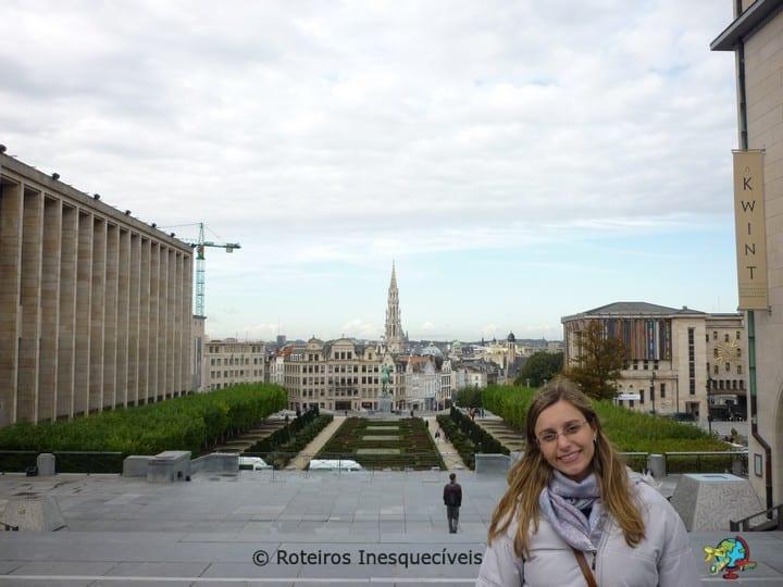 Jardim Mont des Arts - Bruxelas - Belgica