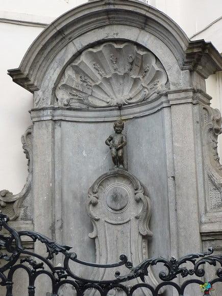 Manneken Pis - Bruxelas - Belgica