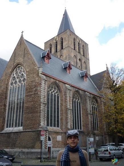 Igreja Sao Giles - Bruges - Bruxelas