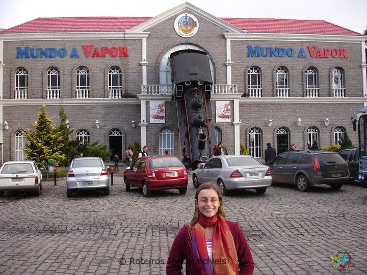 Mundo a Vapor - Canela - Serra Gaucha