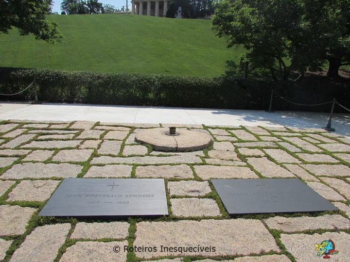 JFK - Cemiterio de Arlington - Washington - Estados Unidos