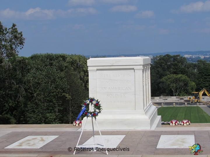 Soldado Desconhecido - Cemiterio de Arlington - Washington - Estados Unidos