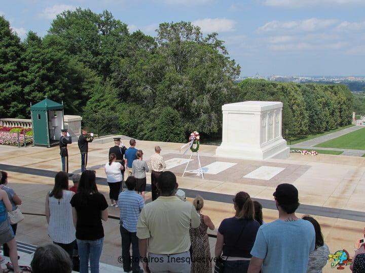 Troca da Guarda - Cemiterio de Arlington - Washington - Estados Unidos