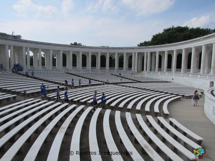 Anfiteatro - Cemiterio de Arlington - Washington - Estados Unidos